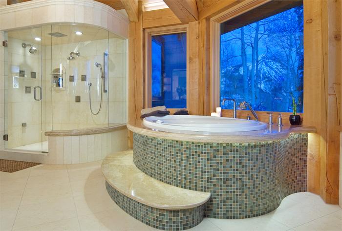 Custom Marble Luxury Bathroom