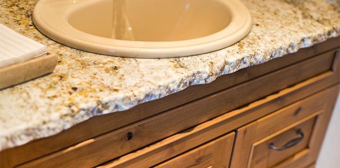 Granite Chiseled Edge Countertop