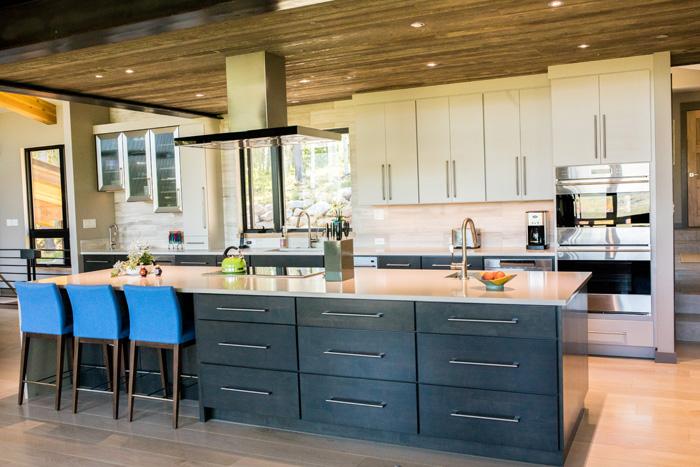 Ceasar Stone Concrete Series Kitchen
