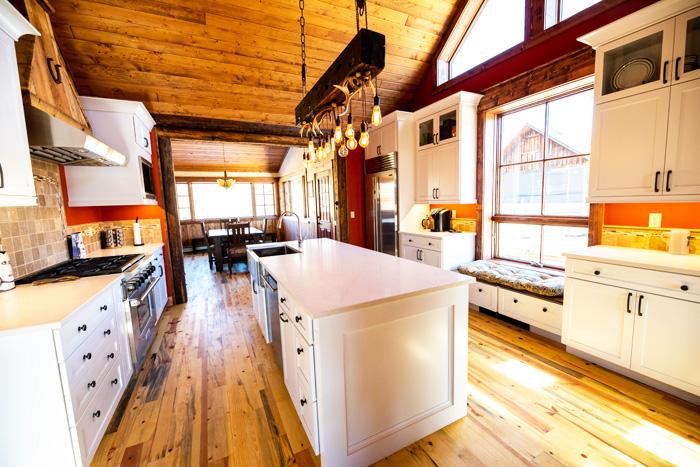 Carbon Creek Colorado Rustic Kitchen