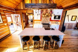 Classic White Rustic Kitchen Remodel